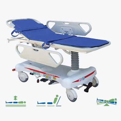T204A  Luxurious Hydraulic Stretcher